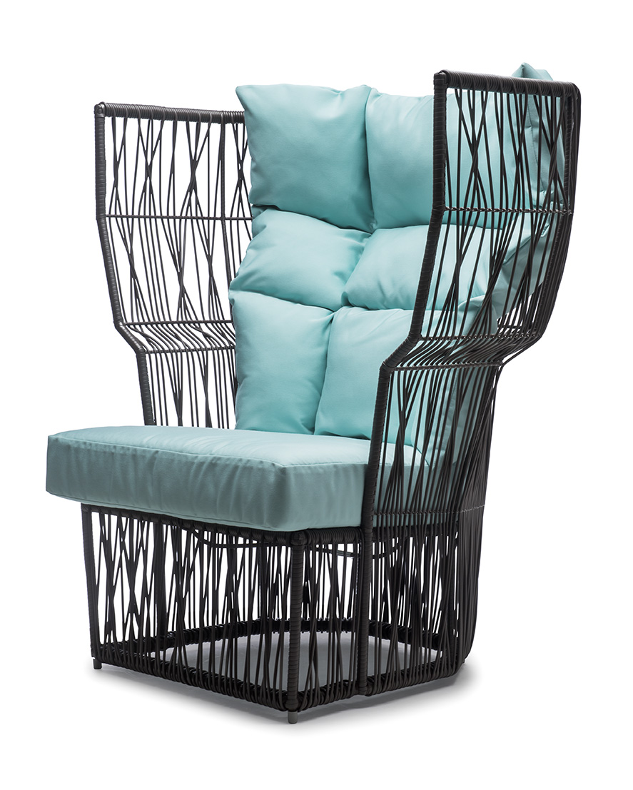 Easy Armchair High Back ...  sc 1 st  Kenneth Cobonpue : high back easy chair - Cheerinfomania.Com