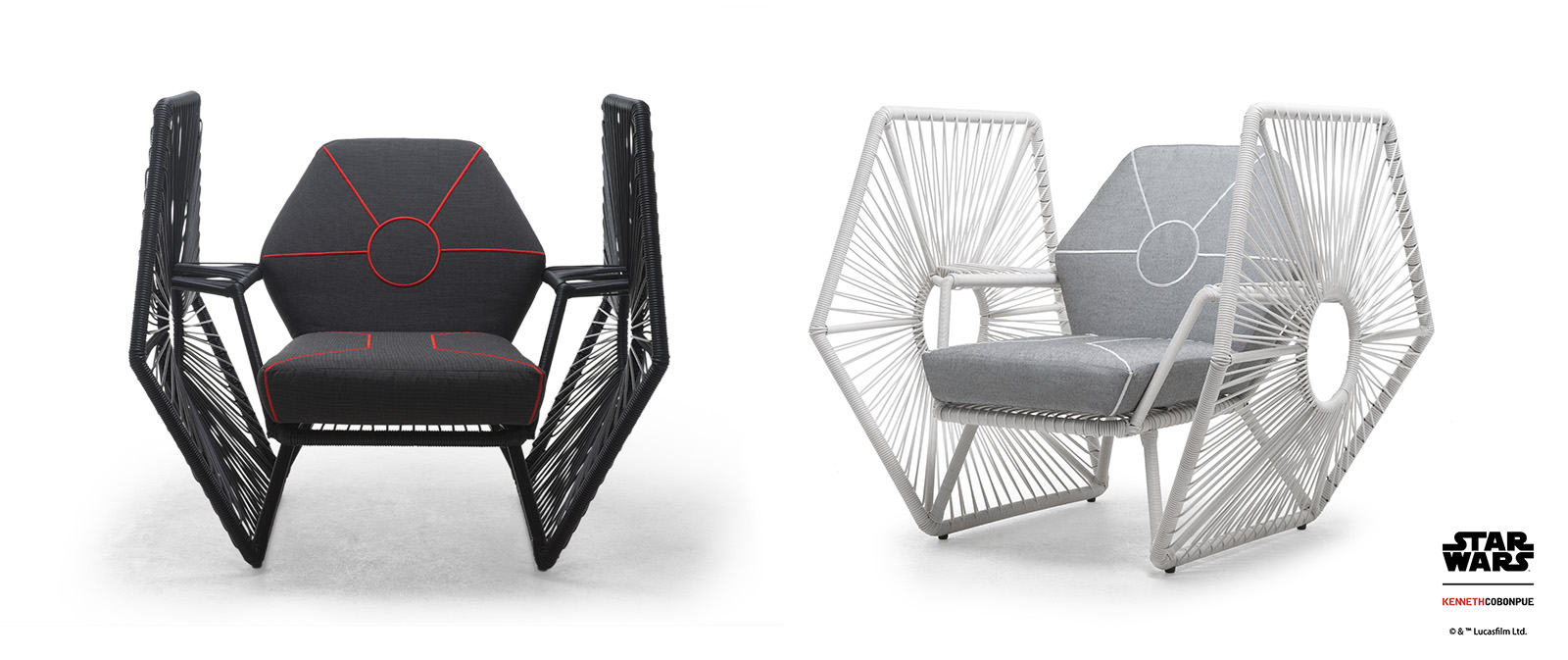 Imperial TIE Fighter Wings Easy Armchair